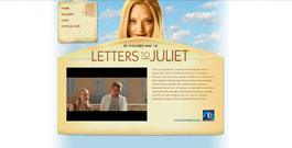 Letters To Juliet movie site