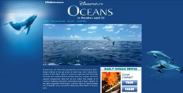 Oceans movie site