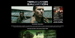 Terminator Salvation movie site