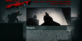 The Spirit movie site
