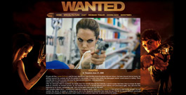 Wanted movie site