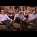 Ed Helms, Bradley Cooper & Zach Galifianakis (The Hangover Part III)