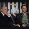 John Malkovich & Benedict Cumberbatch (Penguins of Madagascar)