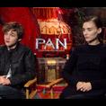 Levi Miller & Rooney Mara (Pan)