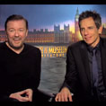 Ricky Gervais & Ben Stiller (Night at the Museum: Secret of the Tomb)