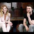 Samara Weaving & Daniel Radcliffe (Guns Akimbo)