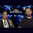 Tessa Thompson & Tom Hiddleston (Thor: Ragnarok)