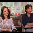 Tina Fey & Jason Bateman (This is Where I Leave You)