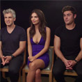 Zac Efron, Emily Ratajkowski & Max Joseph (We Are Your Friends)