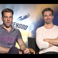 Zachary Quinto & Chris Pine (Star Trek Beyond)