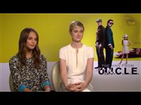 Alicia Vikander & Elizabeth Debicki Interview