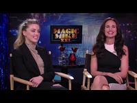 Amber Heard & Andie MacDowell Interview