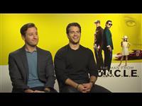 Armie Hammer & Henry Cavill Interview