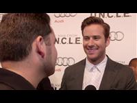 Exclusive: Armie Hammer - The Man from U.N.C.L.E. Red Carpet