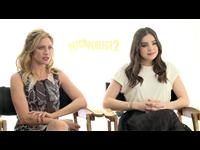 Brittany Snow & Hailee Steinfeld Interview
