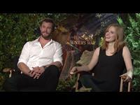 Chris Hemsworth & Jessica Chastain Interview