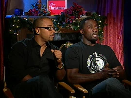 Columbus Short Amp Idris Elba This Christmas Interview