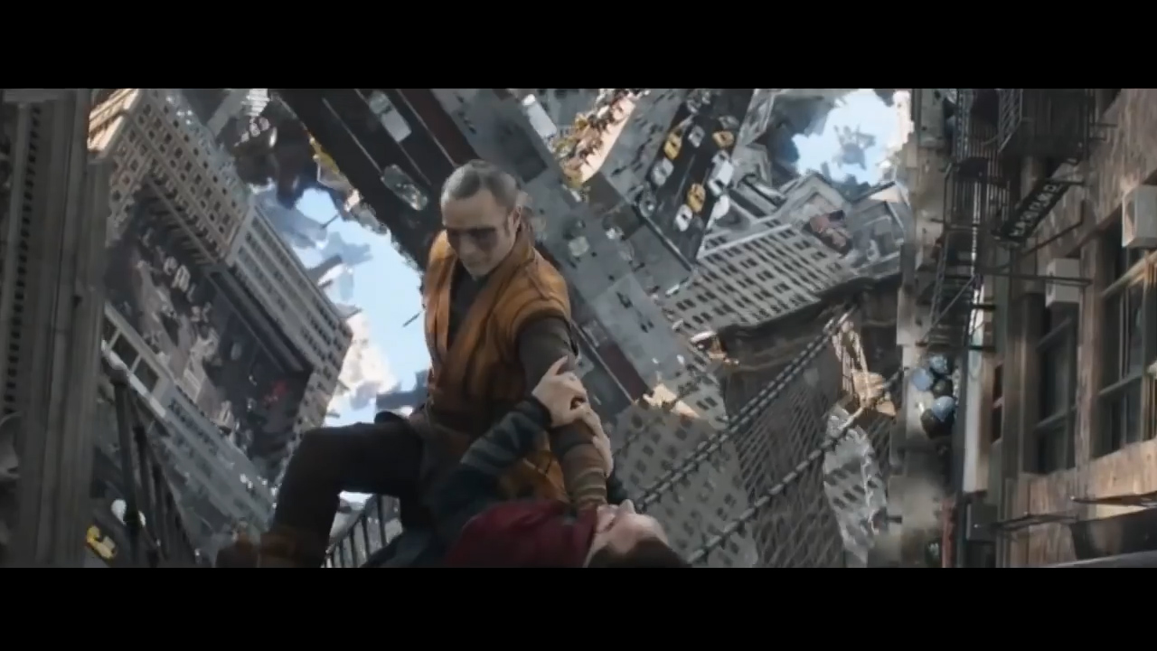 "Doctor Strange Movie Clip - ""Dimensional Fight"" (2016 ... Benedict Cumberbatch Dvd"