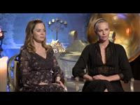 Emily Blunt & Charlize Theron Interview