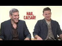 George Clooney & Channing Tatum - Hail, Caesar! Poster