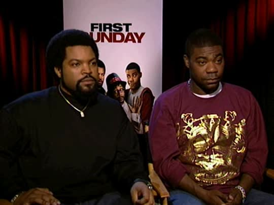Ice Cube Amp Tracy Morgan First Sunday Interview 2008