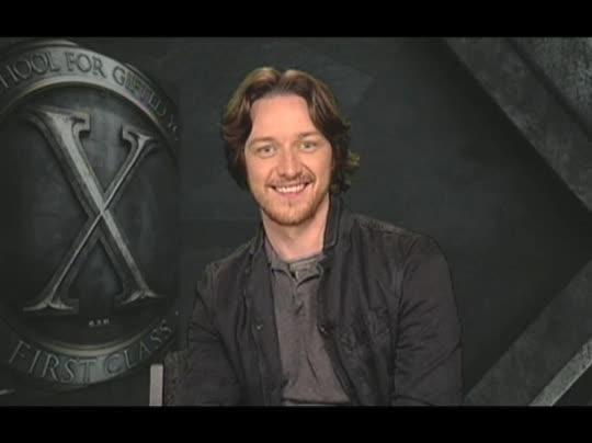 James McAvoy (X-Men: First Class) Interview 2011 | Movie ...  James McAvoy (X...