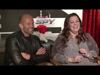 Jason Statham & Melissa McCarthy Interview