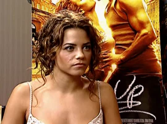 JENNA DEWAN (STEP UP) Interview 2006 | Movie Interview