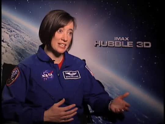 K. Megan McArthur (IMAX: Hubble 3D) Interview 2010 | Movie Interview