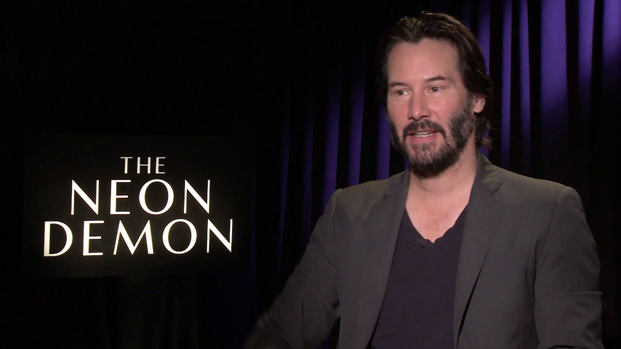 Keanu Reeves Interview - The Neon Demon Interview (2016 ...