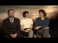 Lee Pace, Evangeline Lilly & Orlando Bloom Interview