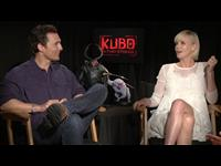 Matthew McConaughey & Charlize Theron Interview - Kubo and the Two Strings Poster