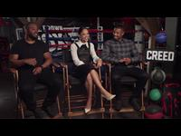 Michael B. Jordan, Tessa Thompson & Ryan Coogler Interview