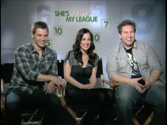 Mike Vogel, Lindsay Sloane & Nate Torrence (She's Out of ...