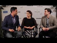 Missy Peregrym & Adam Roop Interview