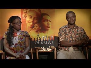 Phiona Mutesi & Robert Katende Interview - Queen of Katwe video