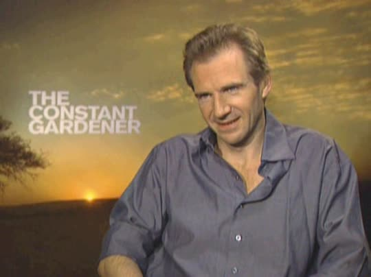 Ralph Fiennes The Constant Gardener Interview 2005 Movie Interview