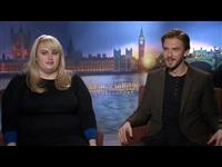 Rebel Wilson & Dan Stevens Interview