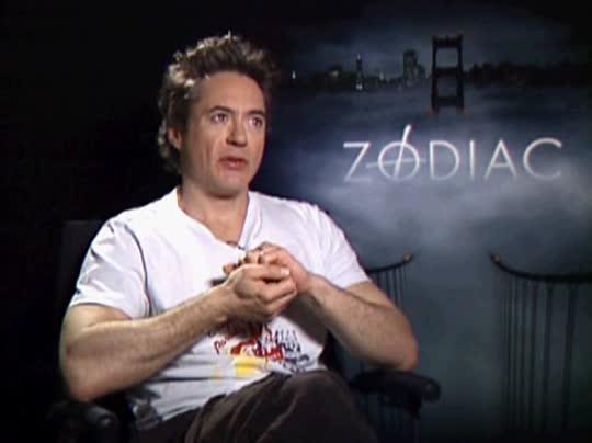 Zodiac Movie Robert Downey Jr ROBERT DOWNEY, JR. (ZO...