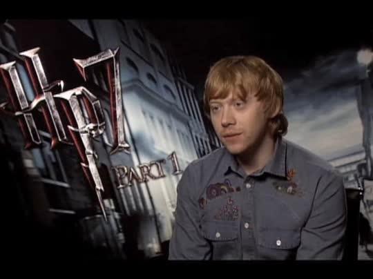 Rupert Grint (Harry Potter and the Deathly Hallows: Part 1 ... Rupert Grint Movies
