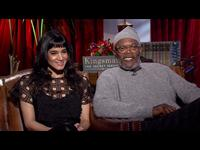 Samuel L. Jackson & Sofia Boutella Interview