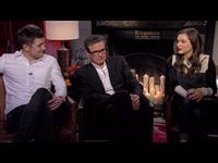 Taron Egerton, Colin Firth & Sophie Cookson Interview