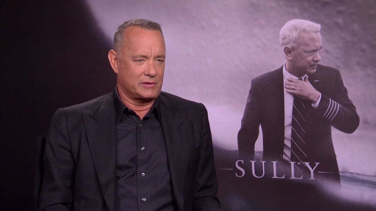 Tom Hanks Sully Interview 2016 Movie Interview