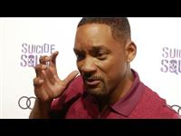 Will Smith Suicide Squad Red Carpet Interview Poster