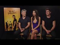 Zac Efron, Emily Ratajkowski & Max Joseph Interview - We Are Your Friends