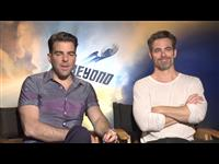 Zachary Quinto & Chris Pine Interview