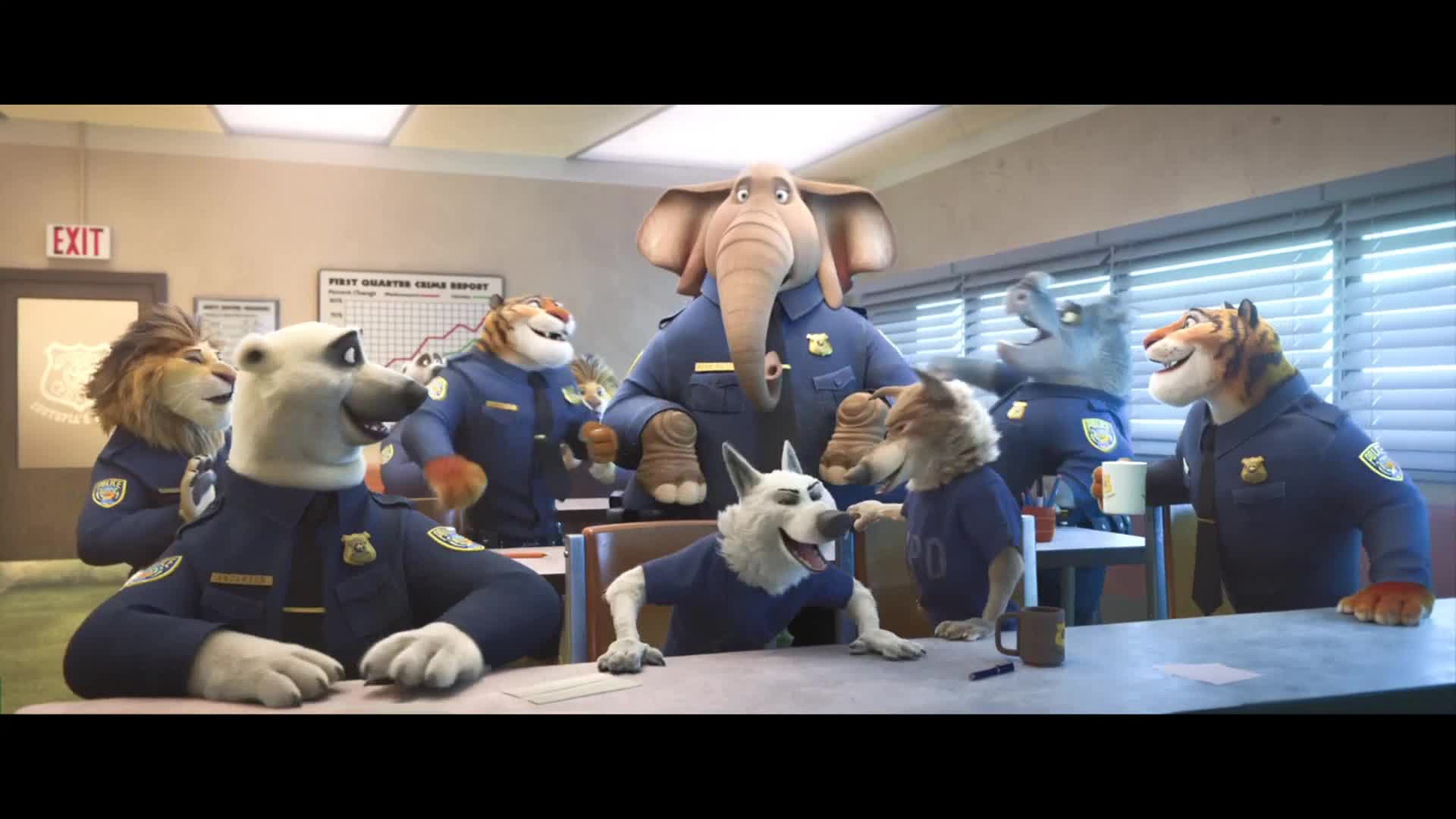 Zootopia movie clip elephant in the room 2016 - The elephant in the living room full movie ...