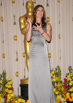 Kathryn Bigelow dressed for success