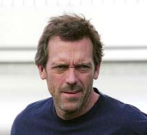 Hugh Laurie honored by the Queen