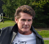 Hasselhoff barred from kids